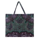 Mandala Corset Zipper Large Tote Bag