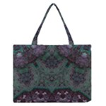 Mandala Corset Zipper Medium Tote Bag