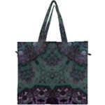 Mandala Corset Canvas Travel Bag
