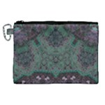 Mandala Corset Canvas Cosmetic Bag (XL)