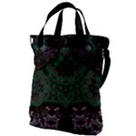 Mandala Corset Canvas Messenger Bag