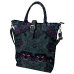 Mandala Corset Buckle Top Tote Bag