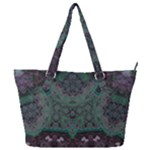 Mandala Corset Full Print Shoulder Bag