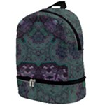 Mandala Corset Zip Bottom Backpack