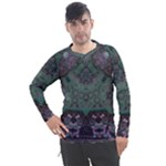Mandala Corset Men s Pique Long Sleeve Tee