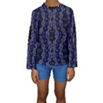 Mandala Cage Kids  Long Sleeve Swimwear