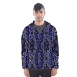 Mandala Cage Men s Hooded Windbreaker