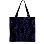 Mandala Cage Zipper Grocery Tote Bag