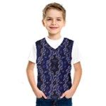 Mandala Cage Kids  Basketball Tank Top
