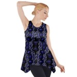 Mandala Cage Side Drop Tank Tunic