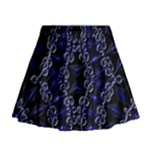 Mandala Cage Mini Flare Skirt