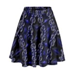 Mandala Cage High Waist Skirt