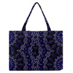 Mandala Cage Zipper Medium Tote Bag