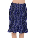 Mandala Cage Short Mermaid Skirt
