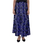 Mandala Cage Flared Maxi Skirt