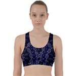 Mandala Cage Back Weave Sports Bra