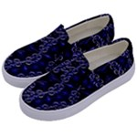 Mandala Cage Kids  Canvas Slip Ons