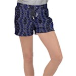 Mandala Cage Velour Lounge Shorts