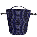 Mandala Cage Drawstring Bucket Bag