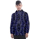 Mandala Cage Men s Front Pocket Pullover Windbreaker