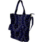 Mandala Cage Shoulder Tote Bag