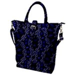 Mandala Cage Buckle Top Tote Bag