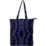 Mandala Cage Double Zip Up Tote Bag