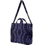 Mandala Cage Square Shoulder Tote Bag