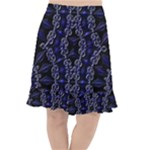 Mandala Cage Fishtail Chiffon Skirt