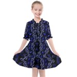Mandala Cage Kids  All Frills Chiffon Dress