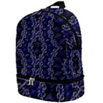 Mandala Cage Zip Bottom Backpack