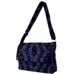 Mandala Cage Full Print Messenger Bag (L)