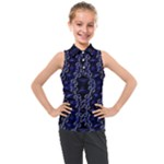 Mandala Cage Kids  Sleeveless Polo Tee