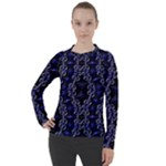 Mandala Cage Women s Pique Long Sleeve Tee