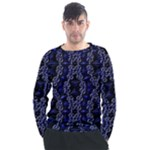 Mandala Cage Men s Long Sleeve Raglan Tee