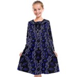 Mandala Cage Kids  Midi Sailor Dress