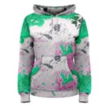 Crackling Green Women s Pullover Hoodie
