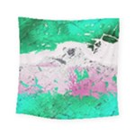 Crackling Green Square Tapestry (Small)