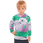 Crackling Green Kids  Hooded Pullover