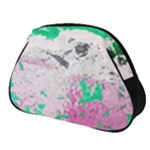 Crackling Green Full Print Accessory Pouch (Small)