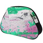 Crackling Green Full Print Accessory Pouch (Big)