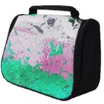 Crackling Green Full Print Travel Pouch (Big)