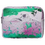 Crackling Green Make Up Pouch (Large)