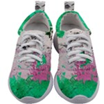 Crackling Green Kids Athletic Shoes