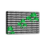 Houndstooth Leaf Mini Canvas 6  x 4  (Stretched)