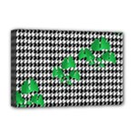 Houndstooth Leaf Deluxe Canvas 18  x 12  (Stretched)