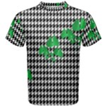 Houndstooth Leaf Men s Cotton Tee