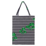 Houndstooth Leaf Classic Tote Bag