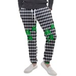 Houndstooth Leaf Men s Jogger Sweatpants