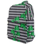 Houndstooth Leaf Classic Backpack